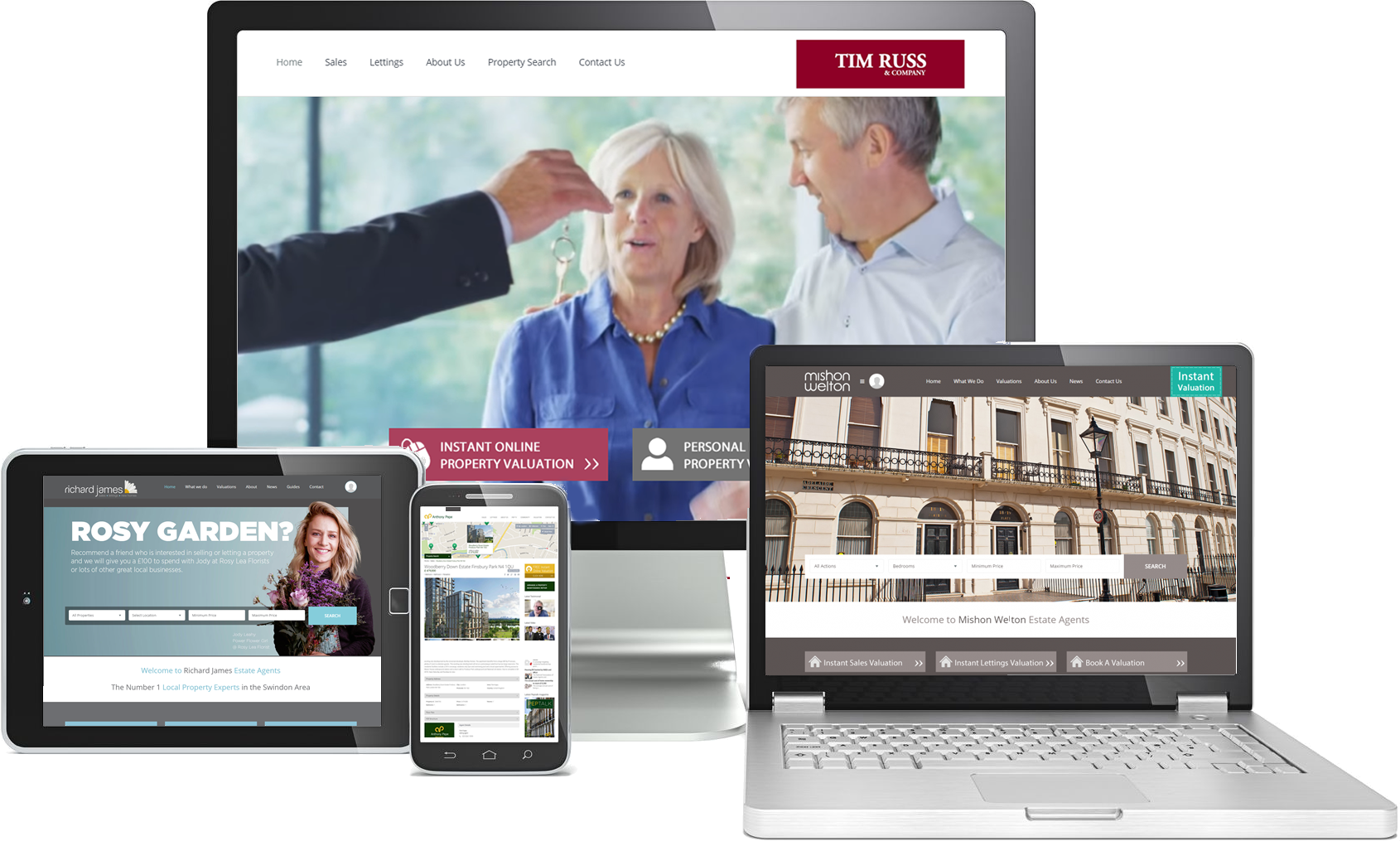 Estate Agency Website Specialists