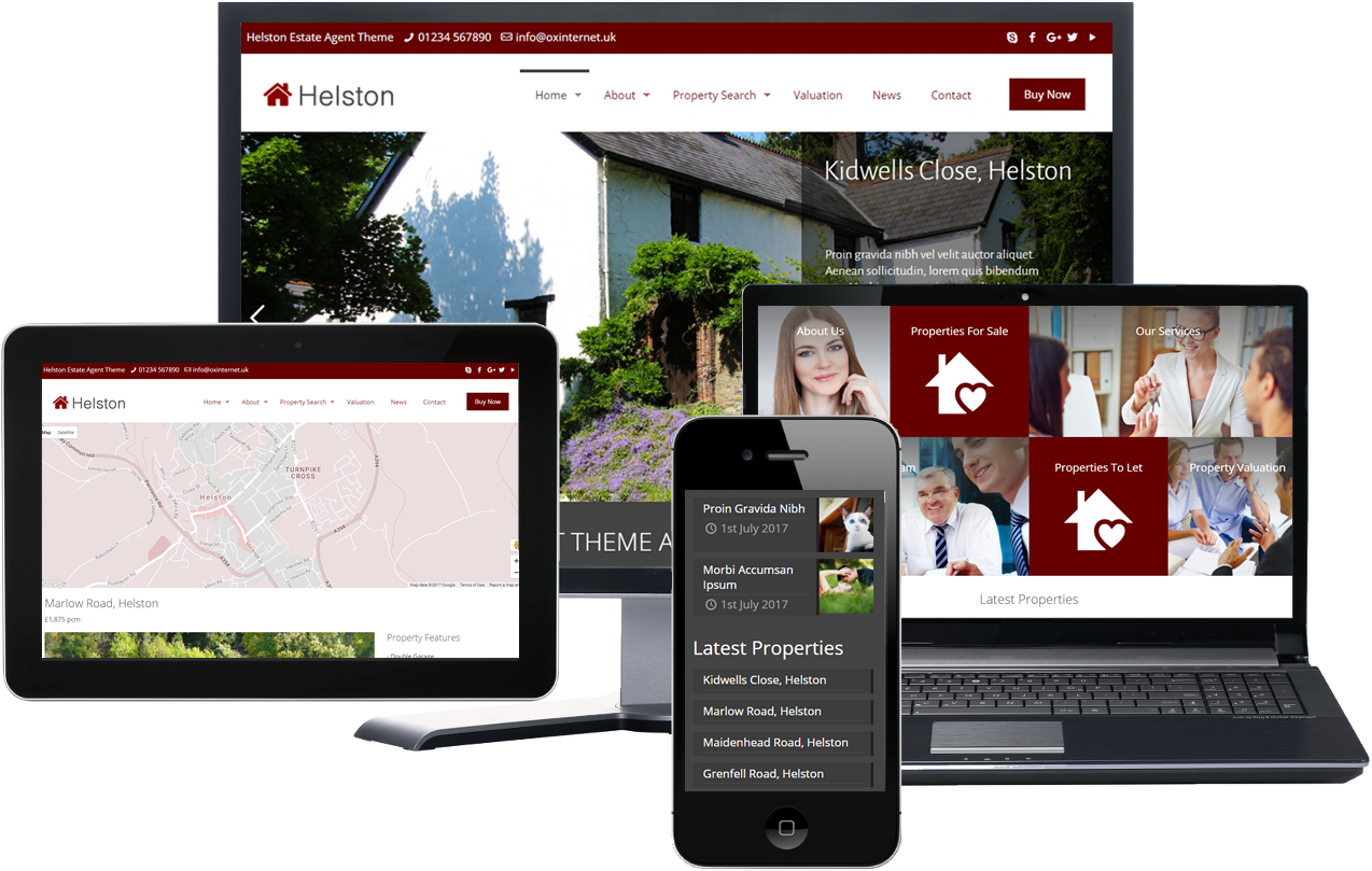 Helston Estate Agency Theme