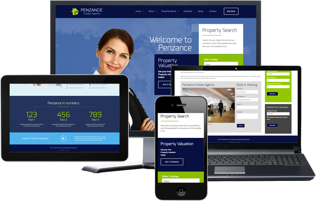 Penzance Estate Agency Theme