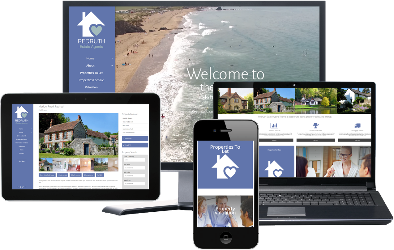 Redruth Estate Agency Theme