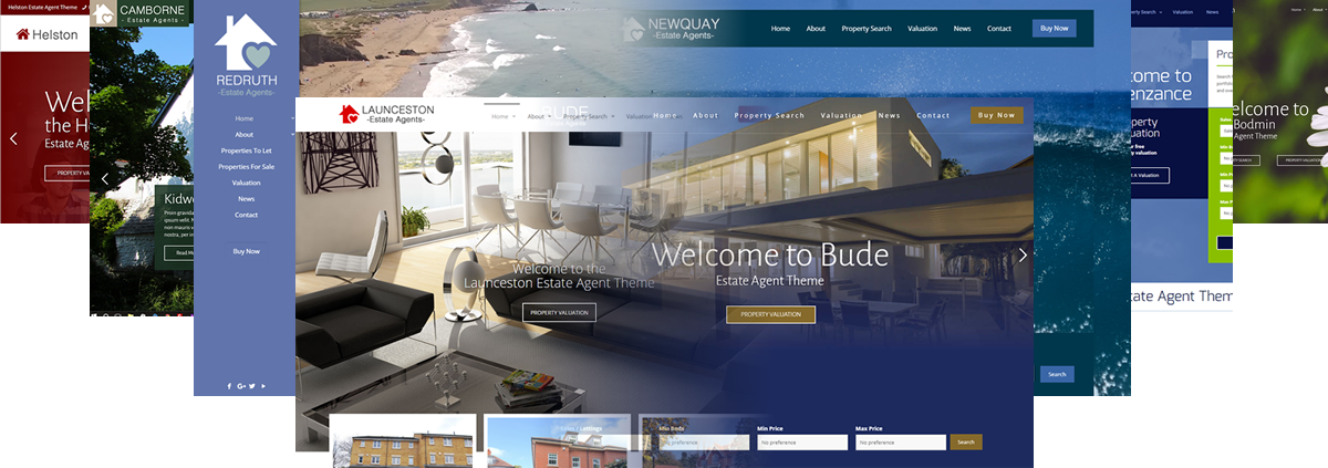 Estate Agent Website Themes