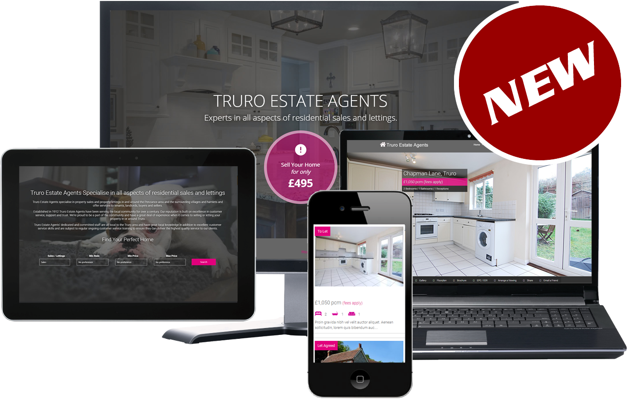 Truro Estate Agency Theme